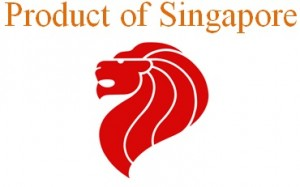 product of singapore