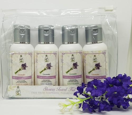 Shower Travel Kit (Lavender)